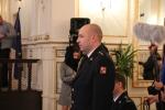 Slavnostní předávání Záslužných medailí IZS Libereckého kraje a medailí HZS ČR Za věrnost III. stupně