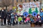 Slavnostní otevření nově osvětlenému přechodu pro chodce u náměstí Míru ve Vrchlabí