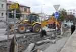 Turnov - ulice 28. října rekonstrukce