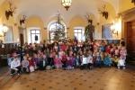 Společné koledování dětí z měst Kowary a Vrchlabí