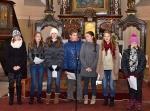 Tříkrálové setkání u betléma v kostele sv. Jiří v Dolní Branné