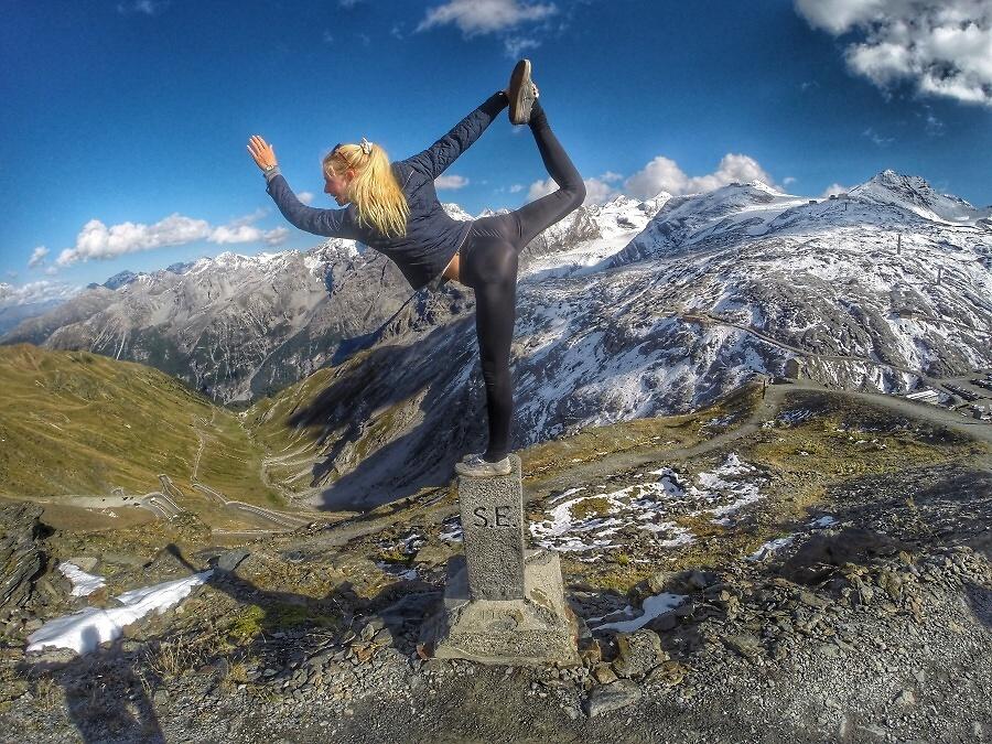 Česká reprezentantka v běhu na lyžích Sandra Schützová<br />Autor: Ondřej Jura