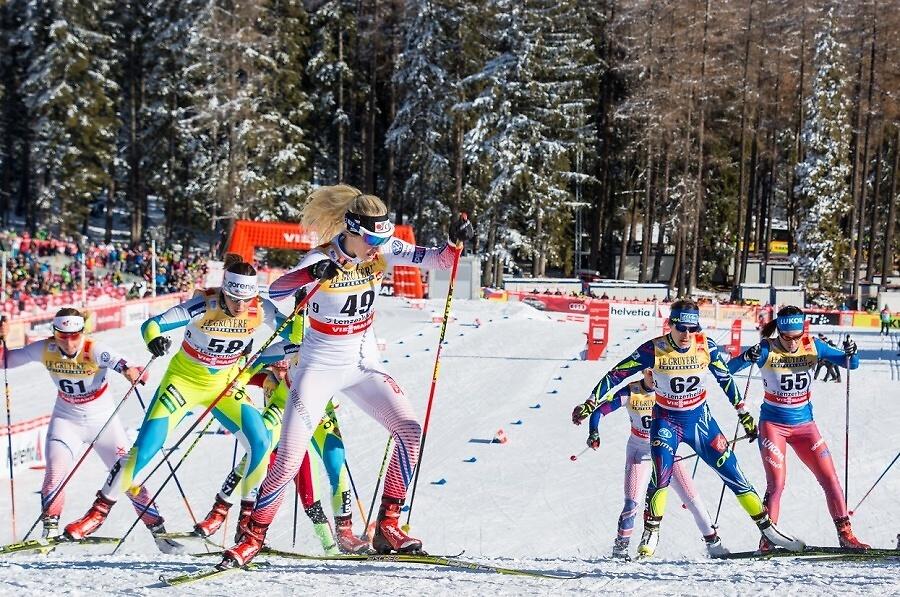 Česká reprezentantka v běhu na lyžích Sandra Schützová<br />Autor: Svaz lyžařů ČR