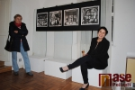 Zahájení výstavy Náraz do bílého v semilském muzeu