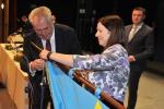 Úprava vlajky v Semilech