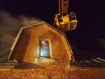 V Lomnici hořelo ve Fučíkově ulici