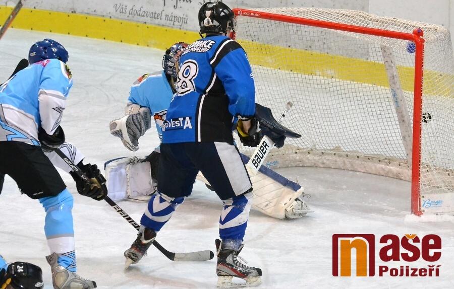 Kvalifikace o 2. ligu, utkání HC Lomnice n. P. - HC Stadion Cheb<br />Autor: Zdeněk Matura