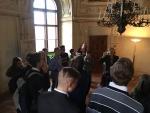 Žáci ze ZŠ Ivana Olbrachta ze Semil navštívili senátora Jaroslava Zemana v sídle Senátu v Praze