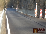 Aktuální stav silnice u Hájů nad Jizerou