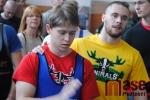 Mistrovství České a Slovenské republiky v benchpressu ve Sportovním centru v Semilech