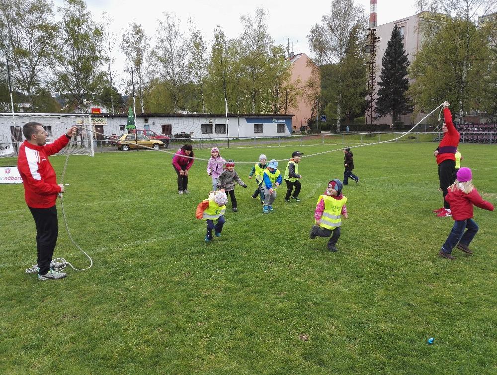 Akce Měsíc náborů - můj první gól na semilském stadionu<br />Autor: Vladimír Mařan