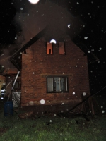 Požár rodinného domu v Nové Vsi nad Popelkou