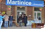Oslava prohlášení stanice v Martinicích kulturní památkou