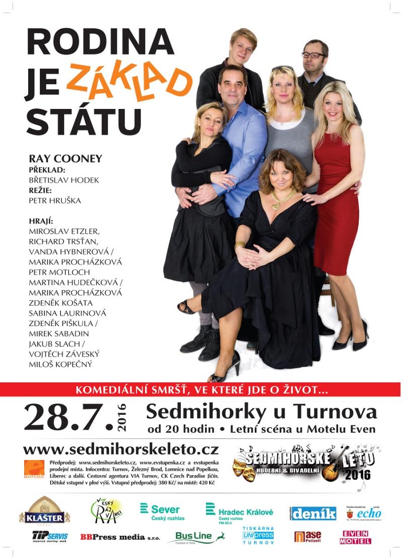 Plakát Rodina je základ státu<br />Autor: Archiv Sedmihorské léto