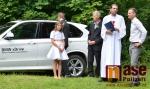Svatba biatlonového trenéra Zdeňka Vítka v Morzinské kapli ve Vrchlabí