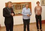 výstava Z Krkonoš do světa a zpět představující dílo malíře Jaroslava Skrbka