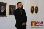 Odhalení pamětní desky před muzeem a zahájení výstavy Židé a Semily