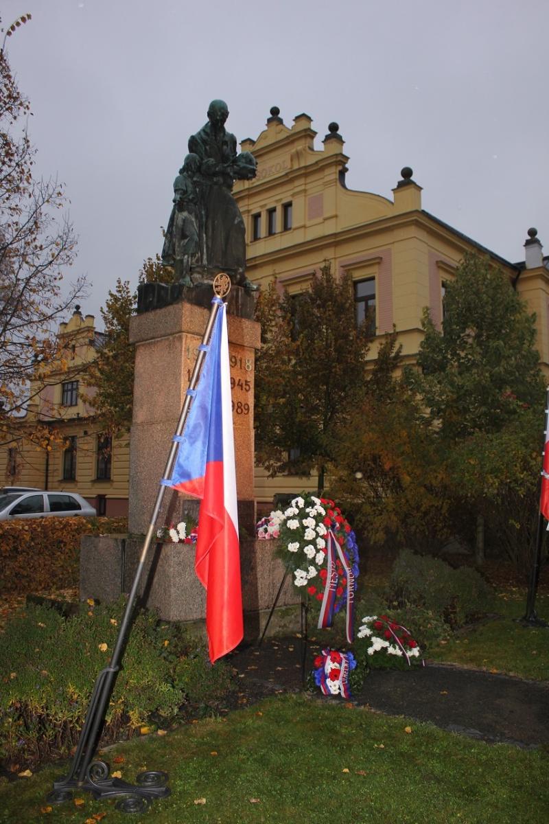 Oslavy 28. října v Turnově<br />Autor: Anna Šupíková