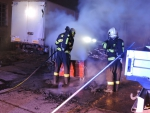Požár v objektu bývalé výrobny hraček TOFA v Semilech