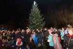 Obrazem: Rozsvícení vánočního stromu v Bozkově 2016