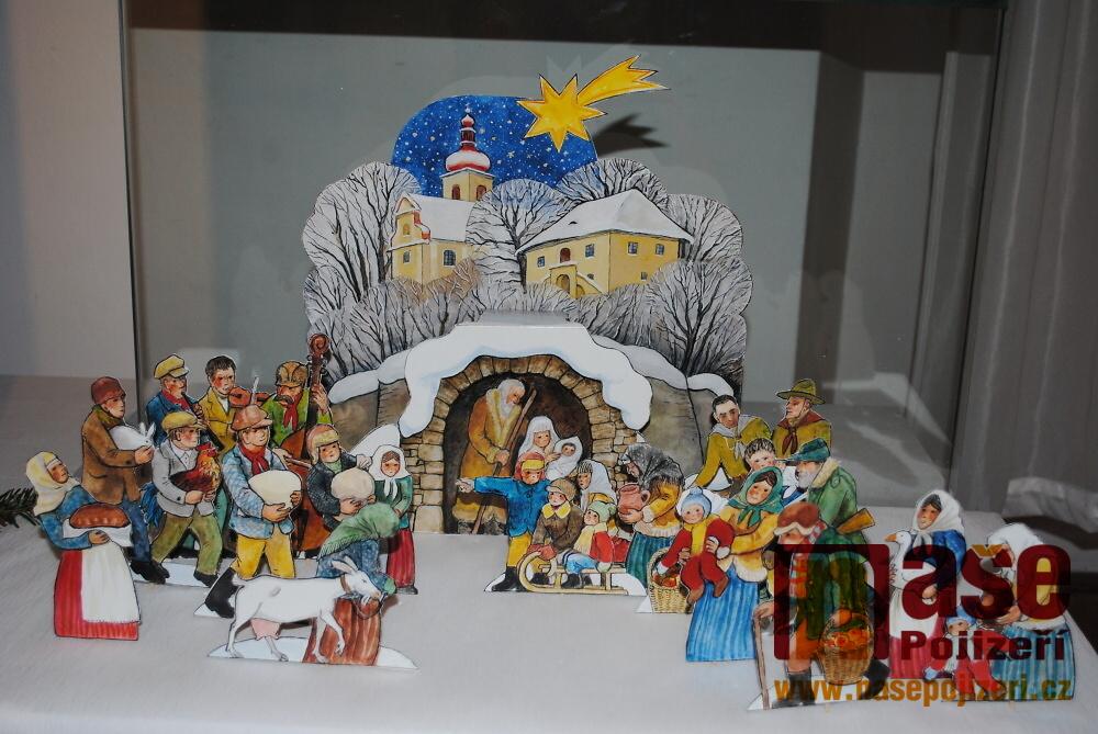 Vernisáž výstavy Vánoce s Jiřím Škopkem v semilském muzeu<br />Autor: Petr Ježek