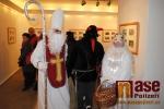 Vernisáž výstavy Vánoce s Jiřím Škopkem v semilském muzeu