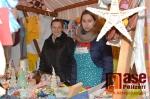 Stánek Pro dobrou věc na turnovských vánočních trzích