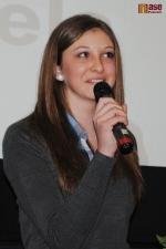 Míša Mlejnková při vyhlášení sportovce Turnova 2012