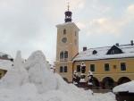 Aktuální fotografie ze stavby Krakonoše z pátka odpoledne