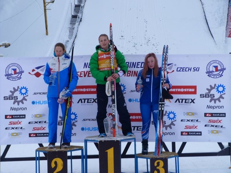 Simona Weinlichová na třetím místě