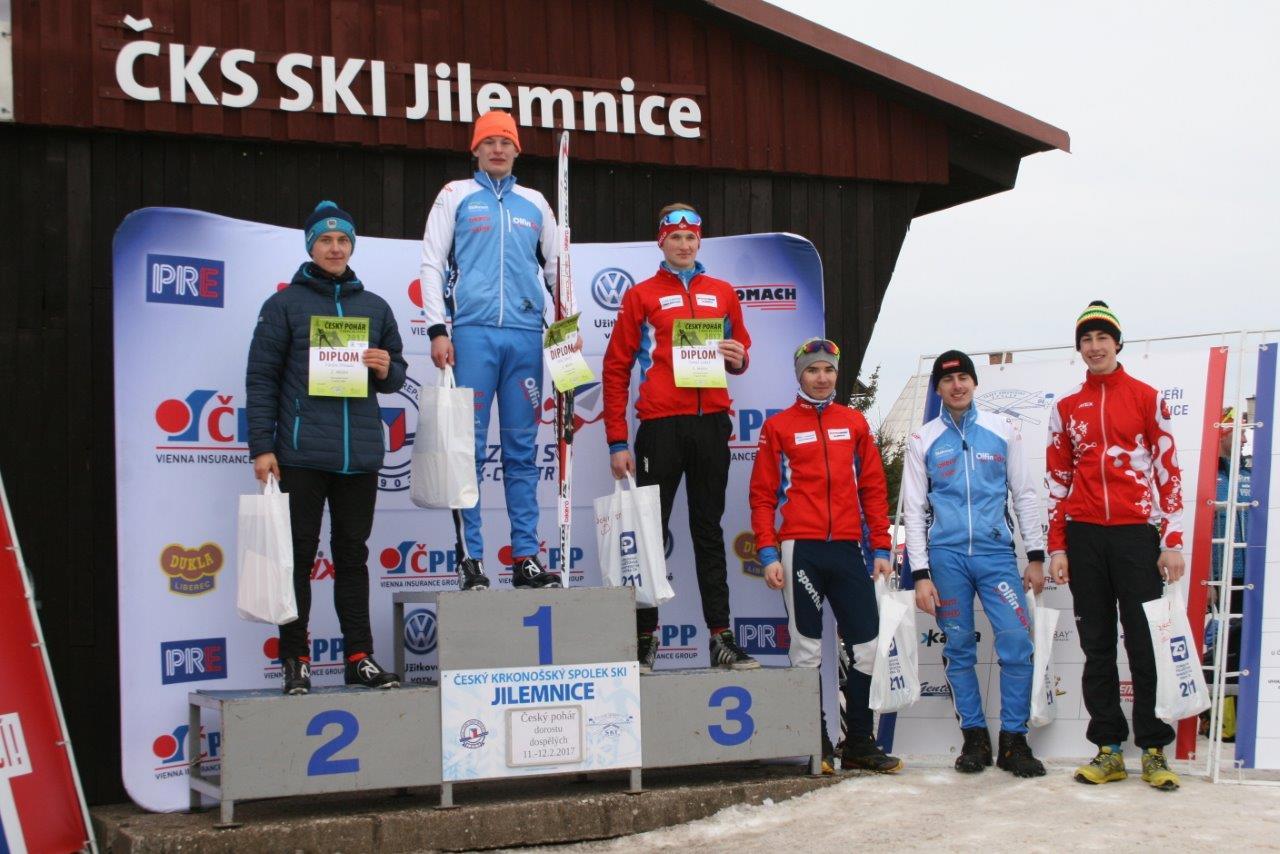 Český pohár v běhu na lyžích na tratích v areálu Hraběnka v Jilemnici<br />Autor: Archiv ČKS SKI Jilemnice