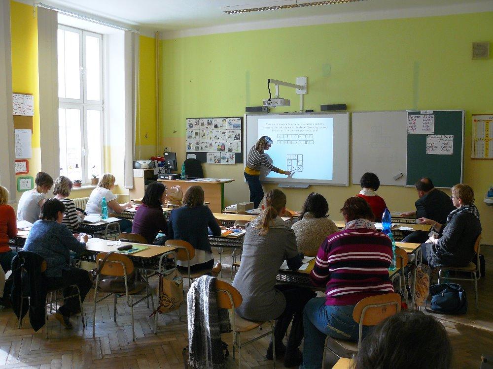 I. den pedagogických inspirací proběhl v ZŠ T. G. Masaryka v Lomnici nad Popelkou<br />Autor: Lenka Morávková