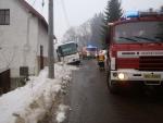 Nehoda autobusu v Jablonci nad Jizerou