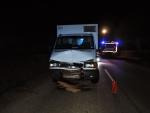 Dopravní nehoda v Bradlecké Lhotě