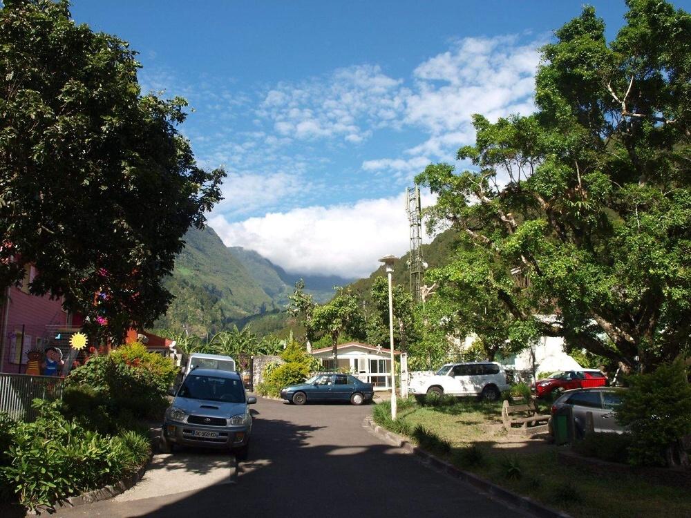 Ostrov Reunion v Indickém oceánu