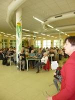 Setkání seniorů ve školní jídelně ZŠ Žižkova Turnov