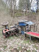 Nehoda v Bystré nad Jizerou, kde spadl ze stráně traktor