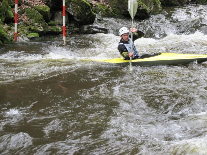 Spálovský slalom na Kamenici, Adam Zoubek