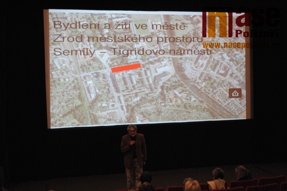Návrhy nového semilského náměstí Pavla Tigrida a umístění autobusového nádraží<br />Autor: Petr Ježek