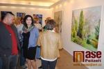 Vernisáž výstavy Jubilanti v Pojizerské galerii semilského muzea