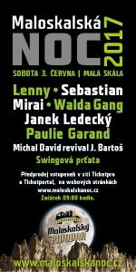 Oficiální plakát Maloskalská noc 2017