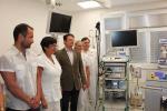 Předání přístroje Přístroj ERBE APC2 IBD centru turnovské nemocnice