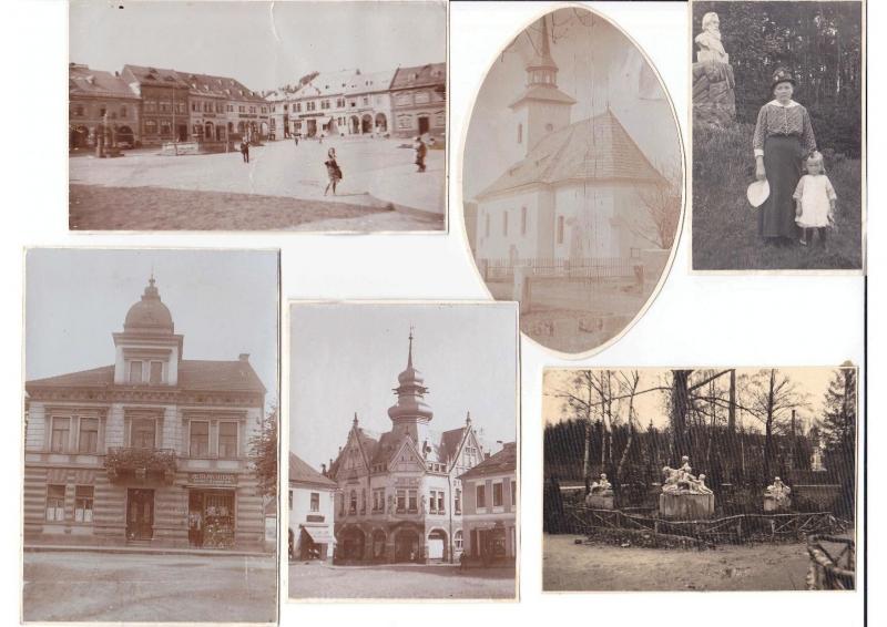 Historické snímky, u kterých se pátrá po místech pořízení
