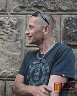 Matěj Homola na Krkonošských pivních slavnostech v Jilemnici