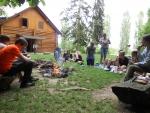 Deváťáci ze Žižkovky tradičně oslavili konec školy týdnem sportu