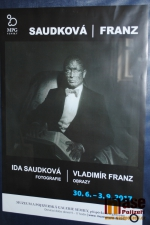 Vernisáž výstavy Ida Saudková a Vladimír Franz v semilském muzeu