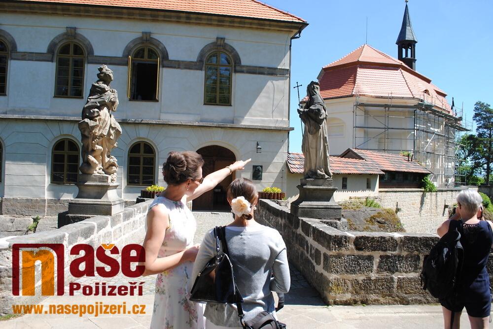 Hrad Valdštejn - rekonstrukce kaple sv. Jana Nepomuckého a další části hradu<br />Autor: Petr Ježek