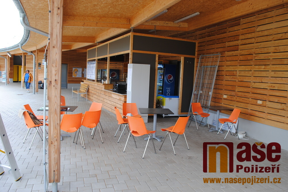 Rozšíření občerstvení na koupališti v areálu Maškova zahrada Turnov<br />Autor: Petr Ježek