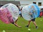 FOTO: Turnaj ve fotbalzorbingu v Libštátě vyhrál tým THC lopaty