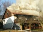 Požár domu v Rokytnici způsobil škodu za jeden a půl milionu